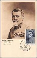 0600/ Carte Maximum (card) France N°847 Général Ferrié 13/6/1949 Fdc Premier Jour - ....-1949