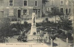 MOUTIERS MONUMENT AUX MORTS POUR LA PATRIE 54 - Non Classés