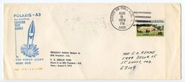 United States 1974 Patrick Air Force Base FL, Submarine Polaris Missile Test Cover - Schmuck-FDC