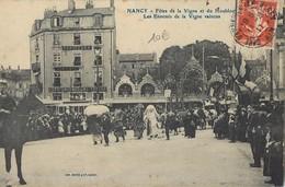 NANCY-JARVILLE FETES DE LA VIGNE ET DU HOUBLON ENNEMIS DE LA VIGNE VAINCUS 54 - Nancy
