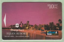 Fiji - 1993 Shangri-La Resort - $10 Days End - FIJ-018 - VFU - Fiji