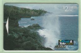 Fiji - 1993 Scenic Issue - $2 Blow Holes - FIJ-020 - VFU - Fiji