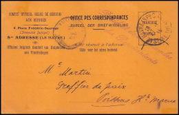 2345/ Belgique Carte Postale (postcard) Pésident De La Chambre Des Représentants 1916 Pour Poissons Haute Marne France - Entiers Postaux