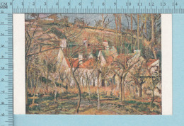 Musé Du Luxambour -  Les Toits Rouges De Camille Pissaro  -  Post Card, Carte Postale - Peintures & Tableaux