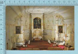 L'Ilet Quebec Canada -Interieur De L'église Notre-Dame De Bonsecours  -  Post Card, Carte Postale - Nouveau-Brunswick