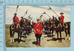 Ottawa Ontario Canada -Royal Canadian Mounted Police Musical Ride -  Post Card, Carte Postale - Uniformes