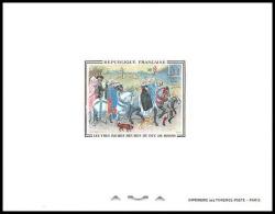 France - N°1457 Les Très Riches Heures Du Duc De Berry Musée Condé Tableau (Painting) épreuve De Luxe / Deluxe Proof - Arte
