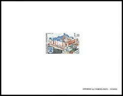 France - N°1686 Chateau (castle) Fort De Sedan Ardennes épreuve De Luxe / Deluxe Proof - Pruebas De Lujo