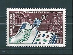 Timbre De St Pierre Et Miquelon De 1964 N°371  Neuf ** - St.Pierre & Miquelon