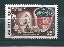 Timbre De St Pierre Et Miquelon De 1968 N°383 Neuf ** Cote 16€ - St.Pierre & Miquelon