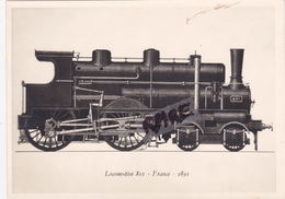 PHOTO ANCIENNE,TRAIN,RAIL,LOCOMOTIVE 801 - Trains