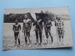 IDENTIFY - Te IDENTIFICEREN - IDENTIFICIER Svp ( Fotokaart / Carte Photo ) Anno 19?? ( Zie Foto Details ) ! - Ethniques & Cultures