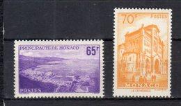 Monaco N° 487 / 488 Luxe ** - Ongebruikt