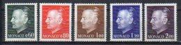 Monaco N° 992 / 996 Luxe ** - Ungebraucht