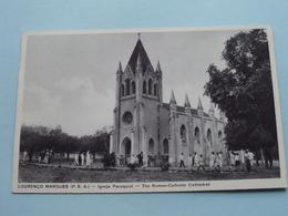 LOURENCO MARQUES (P.E.A.) Igreja Paroquial ( Santos Rufino ) Anno 19?? ( Zie Foto Details ) ! - Mozambique