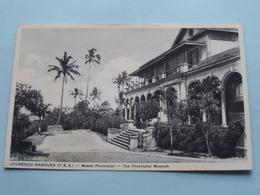 LOURENCO MARQUES (P.E.A.) Musea Provincial ( Santos Rufino ) Anno 19?? ( Zie Foto Details ) ! - Mozambique