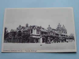 LOURENCO MARQUES (P.E.A.) Avenida Buildings ( Santos Rufino ) Anno 19?? ( Zie Foto Details ) ! - Mozambique