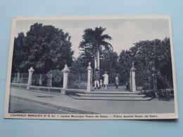 LOURENCO MARQUES (P.E.A.) Jardim Municipal Vasco Da Gama ( Santos Rufino ) Anno 19?? ( Zie Foto Details ) ! - Mozambique