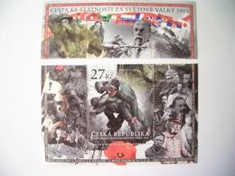 Czech Republic, 2015, World War I Memorial, Soldiers, Flags, History - Czech Republic