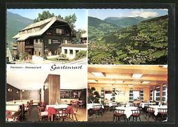 AK Radenthein-Untertweng, Restaurant Gartenrast Mit Kellerbar Murmel-Loch - Österreich