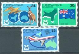 CHRISTMAS - MNH/** - 1984 -  Yv 179-181 - Lot 17364 - Christmas Island