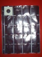 Paquet 50 FEUILLES TRANSPARENTES (FORMAT A4) POUR PIÈCES - 20 CASES NEUF - Supplies And Equipment