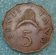 Tanzania 5 Senti, 1974 - Tanzanie