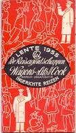 Brochure Dépliant Faltblatt Toerisme Tourisme -Lente 1955 - Wagons Lits - Cook - Tourism Brochures