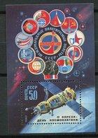Russie ** Bloc 163 -  Journée De La Cosmonautique - 1923-1991 USSR
