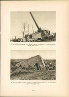 Kupfertiefdruck : 24cm-Eisenbahngeschütz Zwischen Furnes Und Coxyde (März 1917) - 1. Weltkrieg - Entente - Prints & Engravings