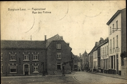 Cp Borgloon Flandern Limburg, Rue Des Prêtres, Hôtel Du Paradis, Straßenansicht - België