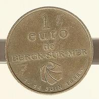 Pas De Calais. Berck Sur Mer. 1 Euro Du 1 Au 14 Juin 1998 - Euros Of The Cities