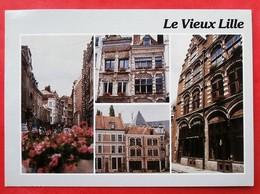 Cpm 59 LILLE Vieux Multivues - Lille