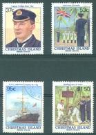 CHRISTMAS - USED/OBLIT. - 1988 -  Yv 269-272 - Lot 17365 - Christmas Island
