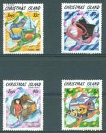 CHRISTMAS - USED/OBLIT. - 1988 - TOYS - Yv 277-280 - Lot 17366 - Christmas Island