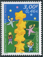 Andorra RF 2000. Michel #551 MNH/Luxe. EUROPA-Cept. (L38) - 2000