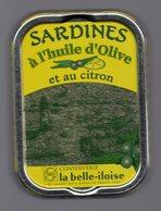 Puxisardinophilie - Boite à Sardines (vide)  à L'huile D'olive Et Au Citron - La Belle-iloise - Other Collections