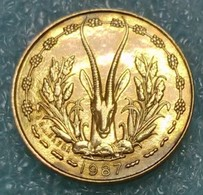 Western Africa (BCEAO) 5 Francs, 1987 -0991 - Autres – Afrique