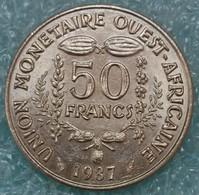 Western Africa (BCEAO) 50 Francs, 1987 -2457 - Autres – Afrique