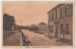 ALSENZ - Restauration Zum Bahnhof  , écrite 1918 Non Timbrée - Allemagne