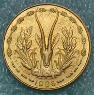 Western Africa (BCEAO) 5 Francs, 1986 -4018 - Autres – Afrique