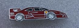 Broche Ferrari F40 . No Pin's . émail Grand Feu .énamel . 12 X 51 Mm - Ferrari