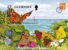 WWF GUERNSEY- Bloc Feuillet 1997 Endangered Species Espèces Menacées D'extinction - Unused Stamps