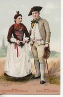 Costumes Suisses  Authentiques.33 Sujets- Wallis-Valais - Unclassified