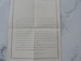 Ww1 - Communiqué Français Du 11 Novembre 1918 (lire Le Texte) - 1914-18