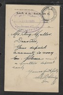 S.Africa Railways & Harbours,Roads Motor Service (h/s)  Deposit Request DUNDEE 7 MR 35 > POMEROY - South Africa (...-1961)