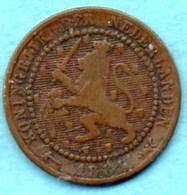 (r65) PAYS BAS / NETHERLANDS  1 Cent 1881 - [ 3] 1815-… : Kingdom Of The Netherlands