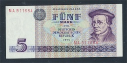 DDR Rosenbg: 361a, Kontrollnummer 6stellig, Typensatz Ab 1979 Dans Umlauf  1975 5 Mark (8981360 (8981360 - 5 Deutsche Mark