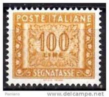 """PIA - ITA - 2001 : Segnatasse  £ 100 Con Scritta """"I.P.Z.S. - ROMA"""" - (SAS 122A) - 6. 1946-.. Republik"""