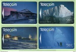 New Zealand - 1991 Antarctic - Ross Dependency - Set (4) - NZ-G-41/4 - VFU - Neuseeland
